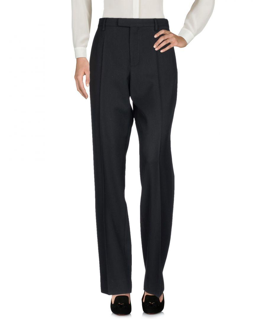 Image for Maison Margiela Black Virgin Wool Tailored Trousers