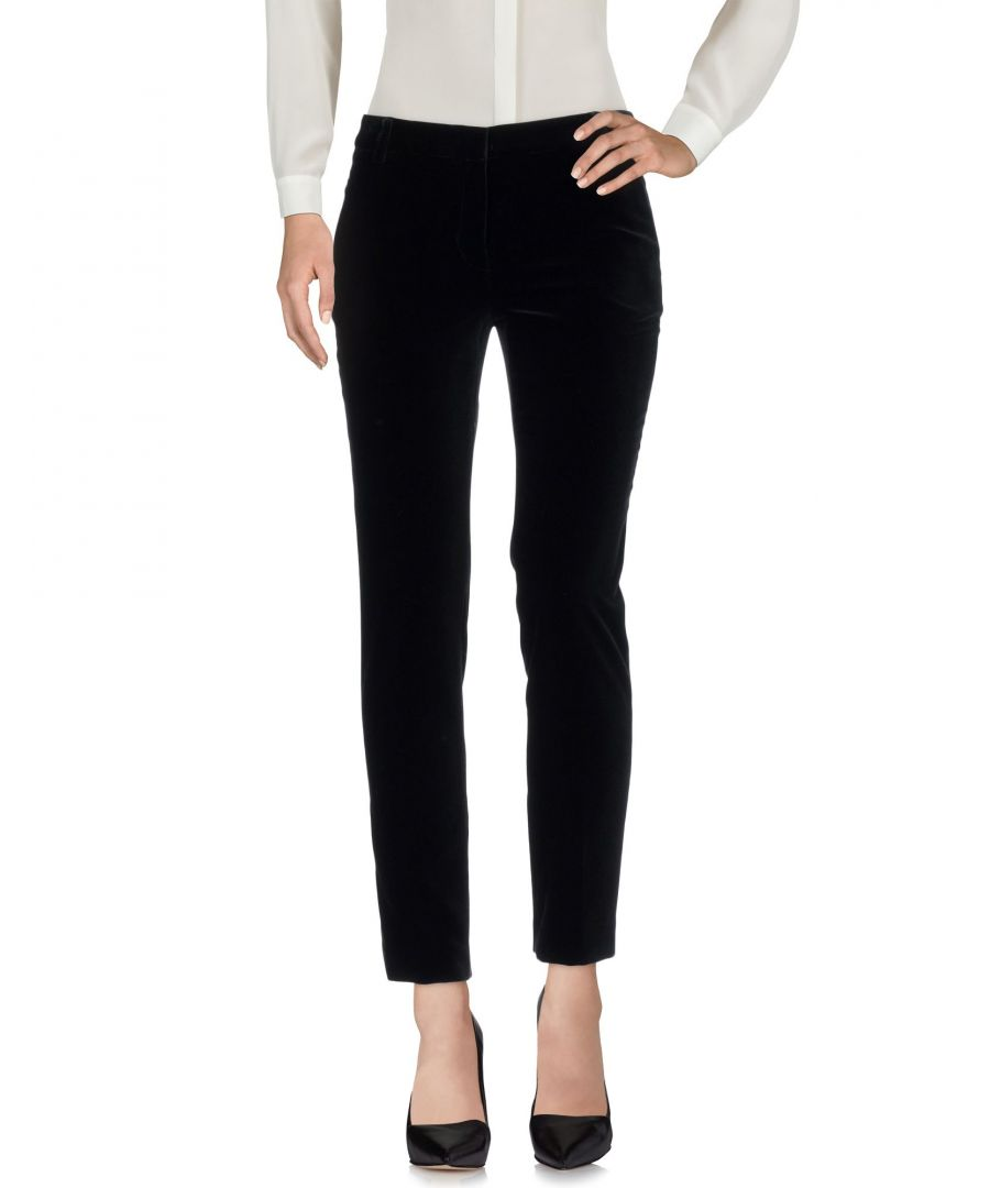 Image for Emilio Pucci Black Cotton Tailored Trousers
