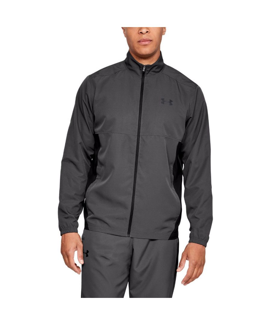 Image for Under Armour Mens Sportstyle Woven Stretchy Breathable Training Jacket