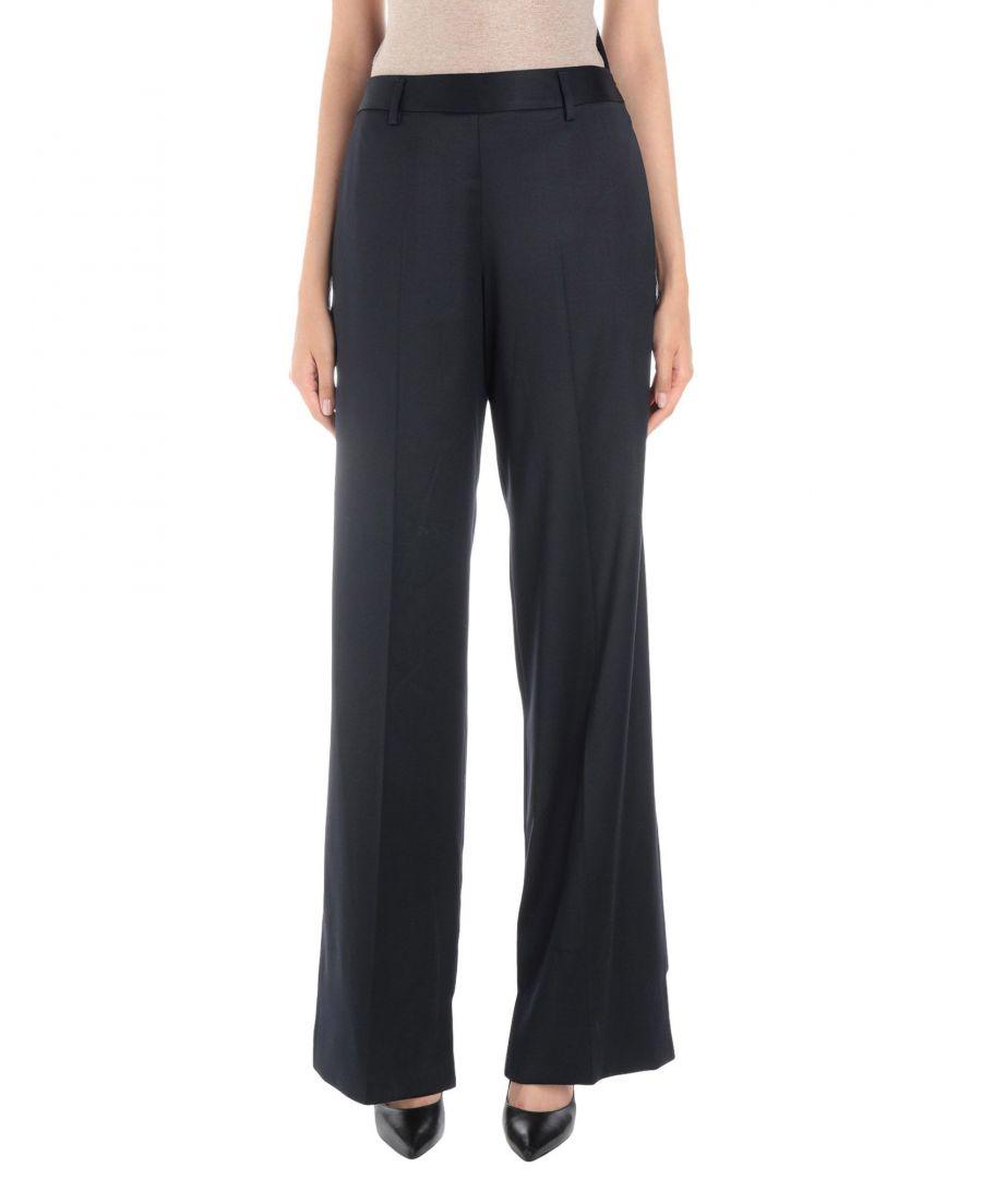 Image for Maison Margiela Dark Blue Virgin Wool Trousers
