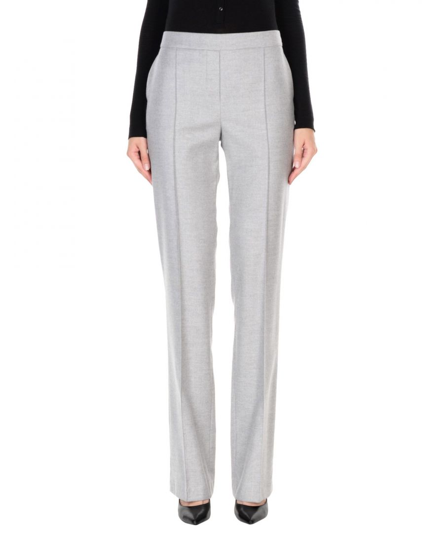 Image for TROUSERS Blumarine Light grey Woman Wool