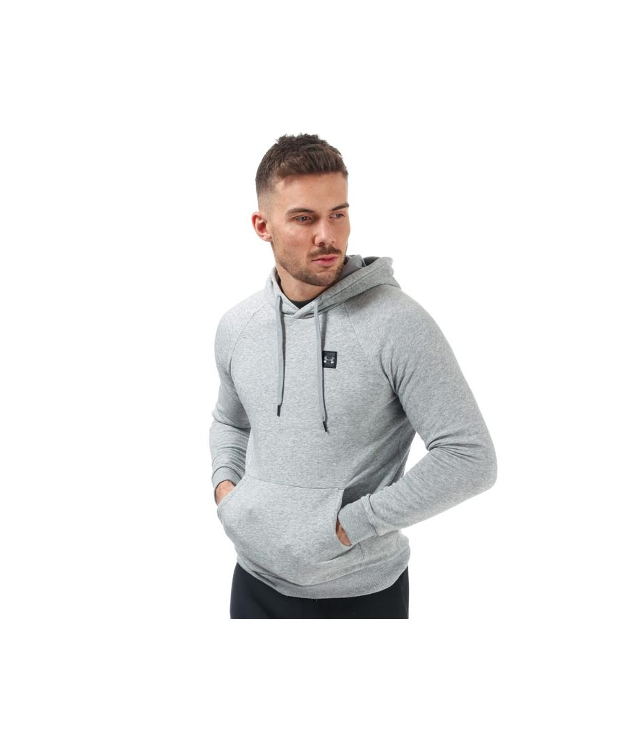 Image for Men's Under Armour Rival Fleece Hoody in Grey