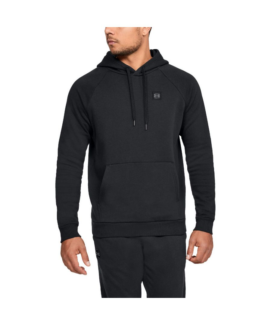 Image for Under Armour Mens Rival Fleece PO Wicking Training Sweater Hoodie