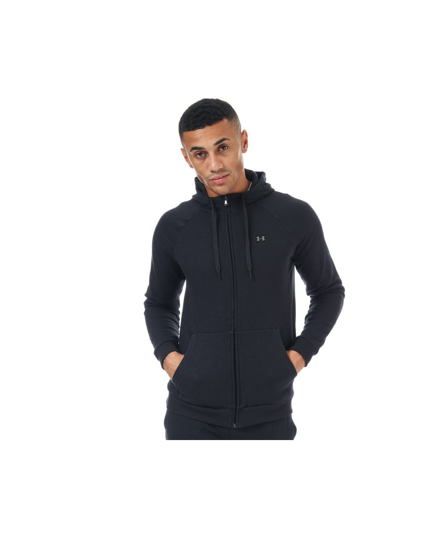 Image for Men's Under Armour Rival Fleece Hoody in Black