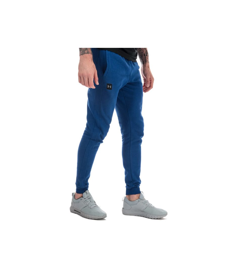 Image for Men's Under Armour Rival Fleece Jog Pants in Blue