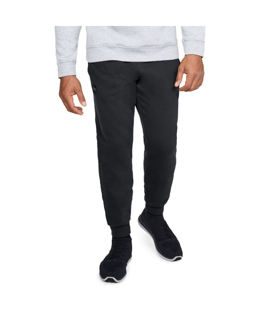 Image for Under Armour Mens Rival Fleece Lightweight Stretchy Training Joggers