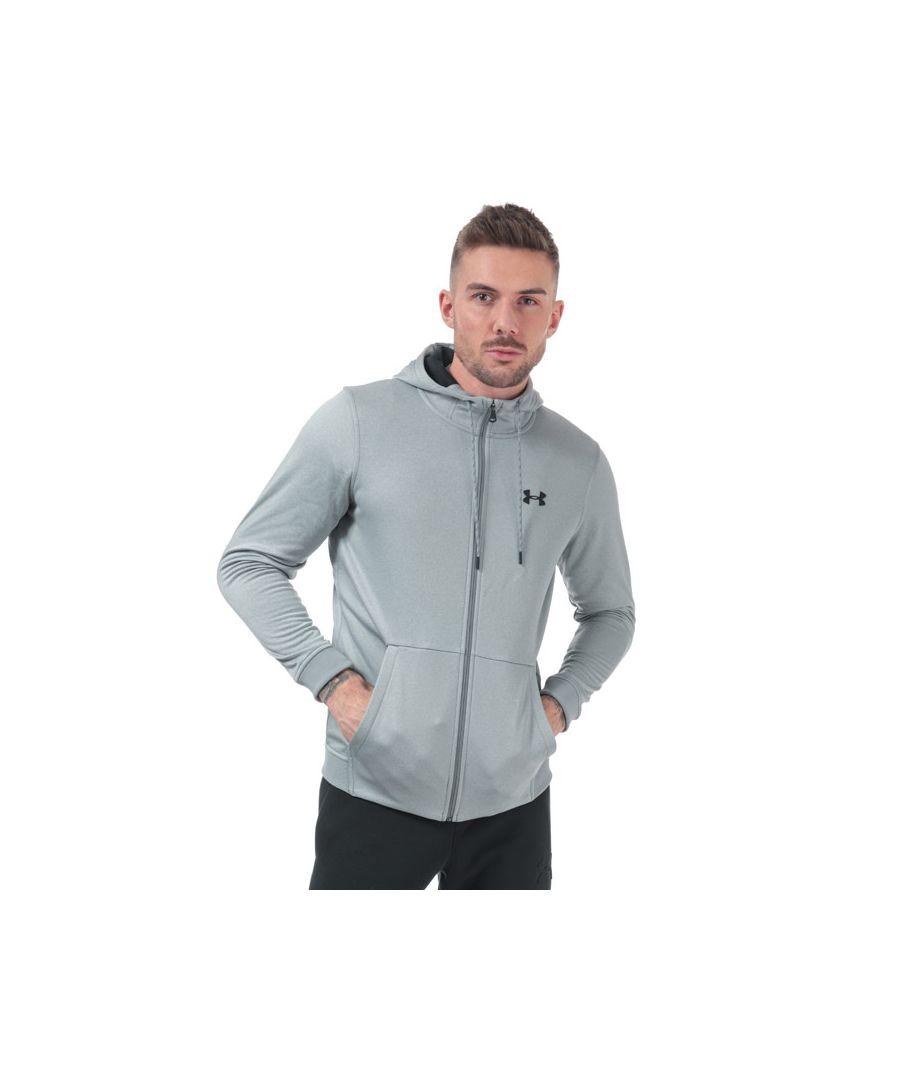 Image for Men's Under Armour Armour FZ Fleece Hoody in Grey