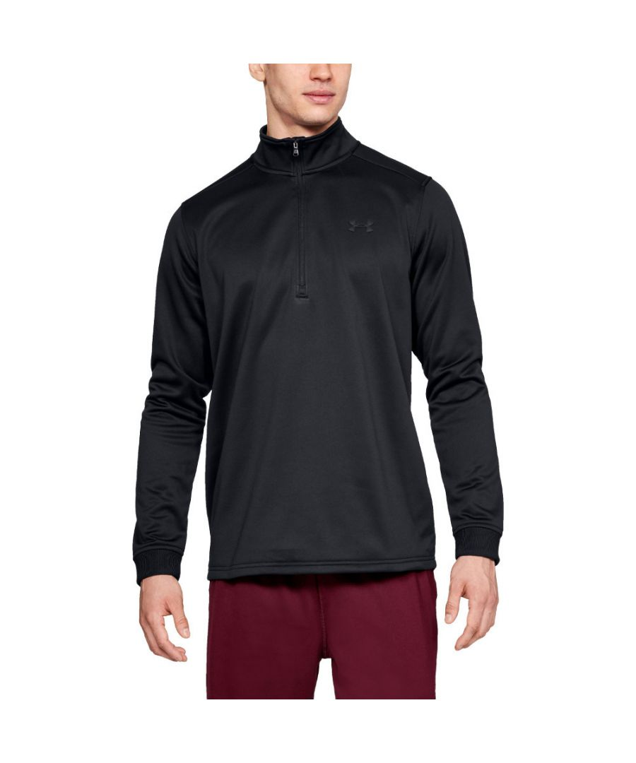 Image for Under Armour Mens Armour Fleece 1/2 Zip Lightweight Training Top
