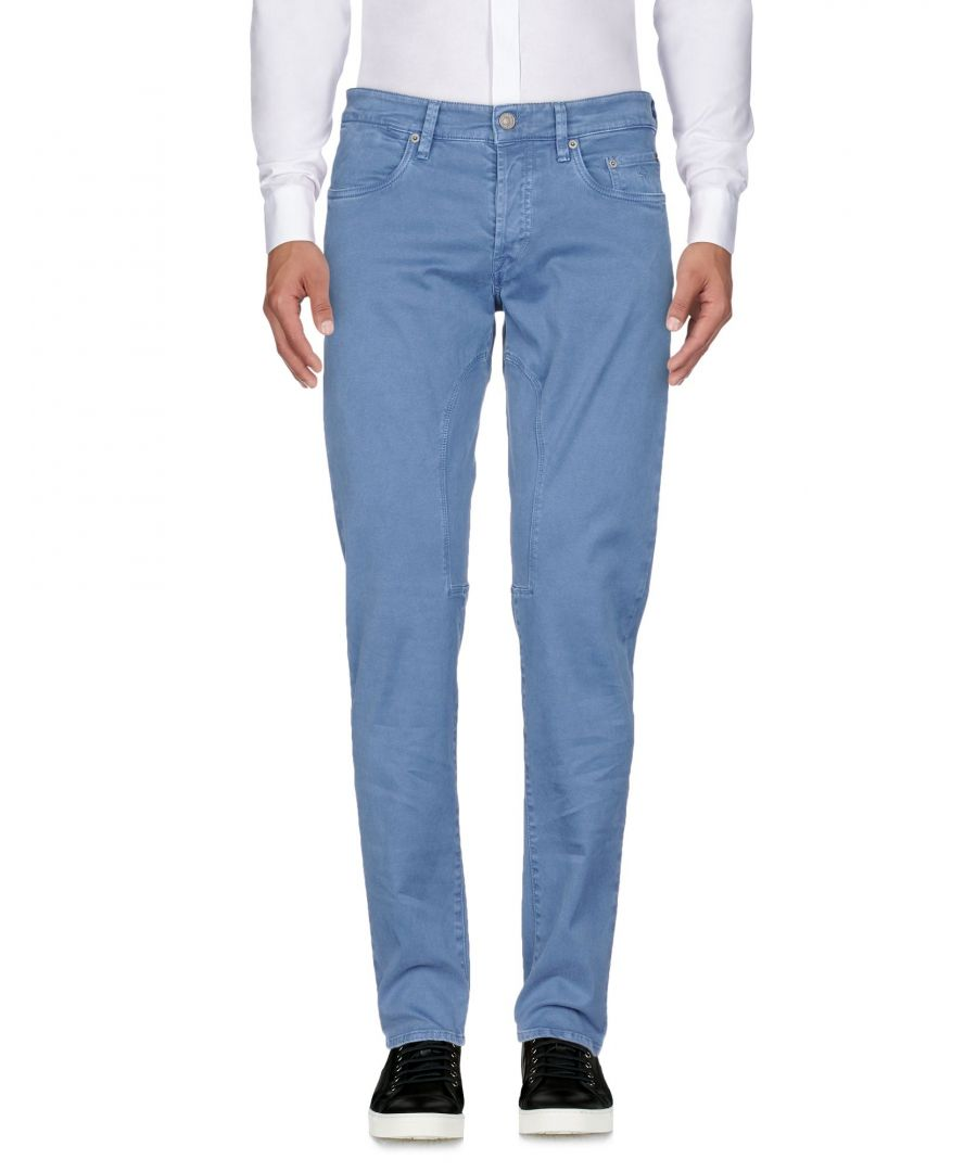 Image for TROUSERS Siviglia Pastel blue Man Cotton
