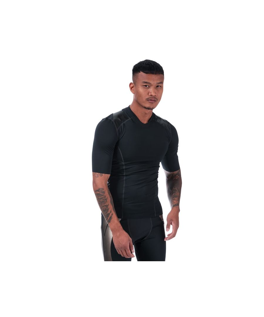 Image for Men's Under Armour Perpetual Superbase Half Sleeve T-Shirt in Black