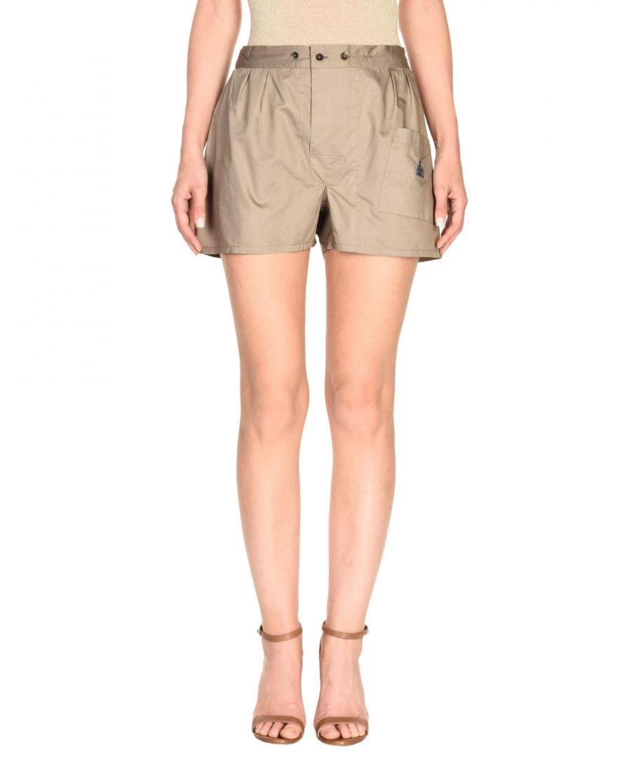 Image for Vivienne Westwood Khaki Cotton Shorts
