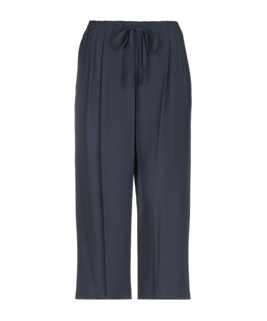 Image for Vince. Dark Blue Crepe Trousers