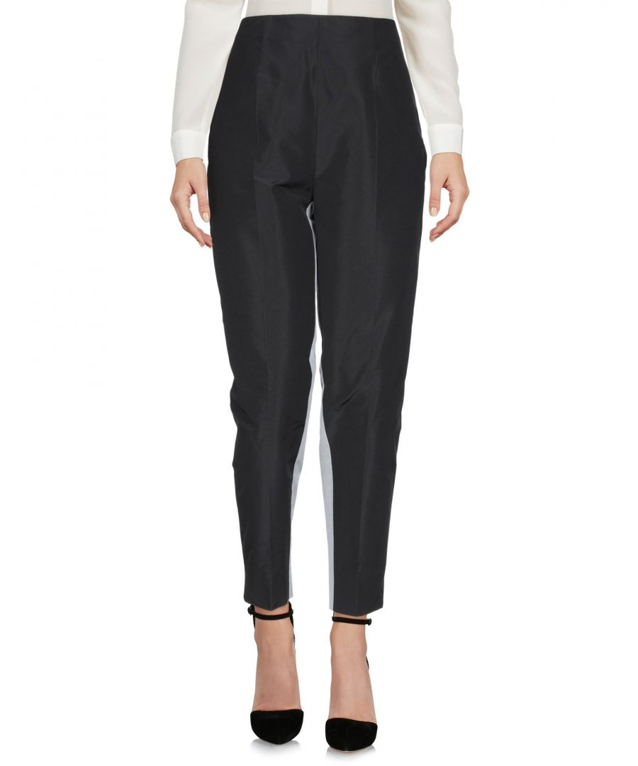 Image for Prada Black Silk Trousers