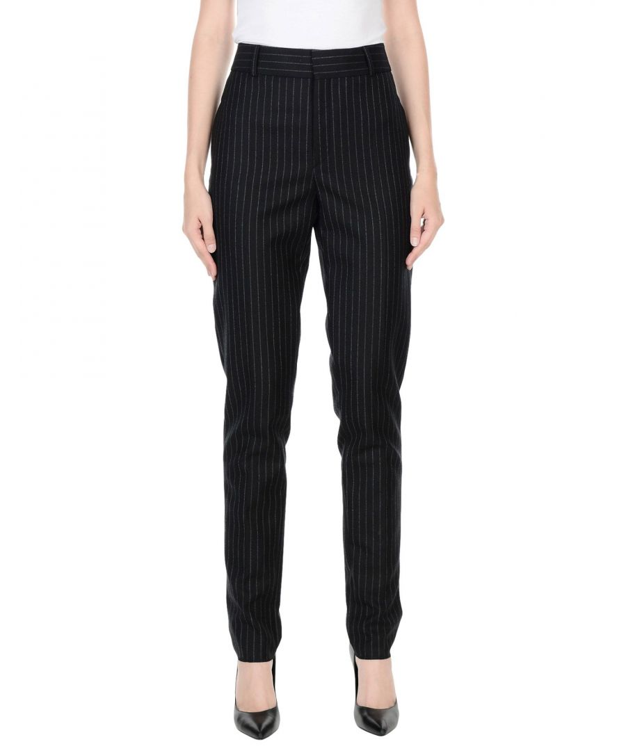 Image for TROUSERS Saint Laurent Black Woman Wool