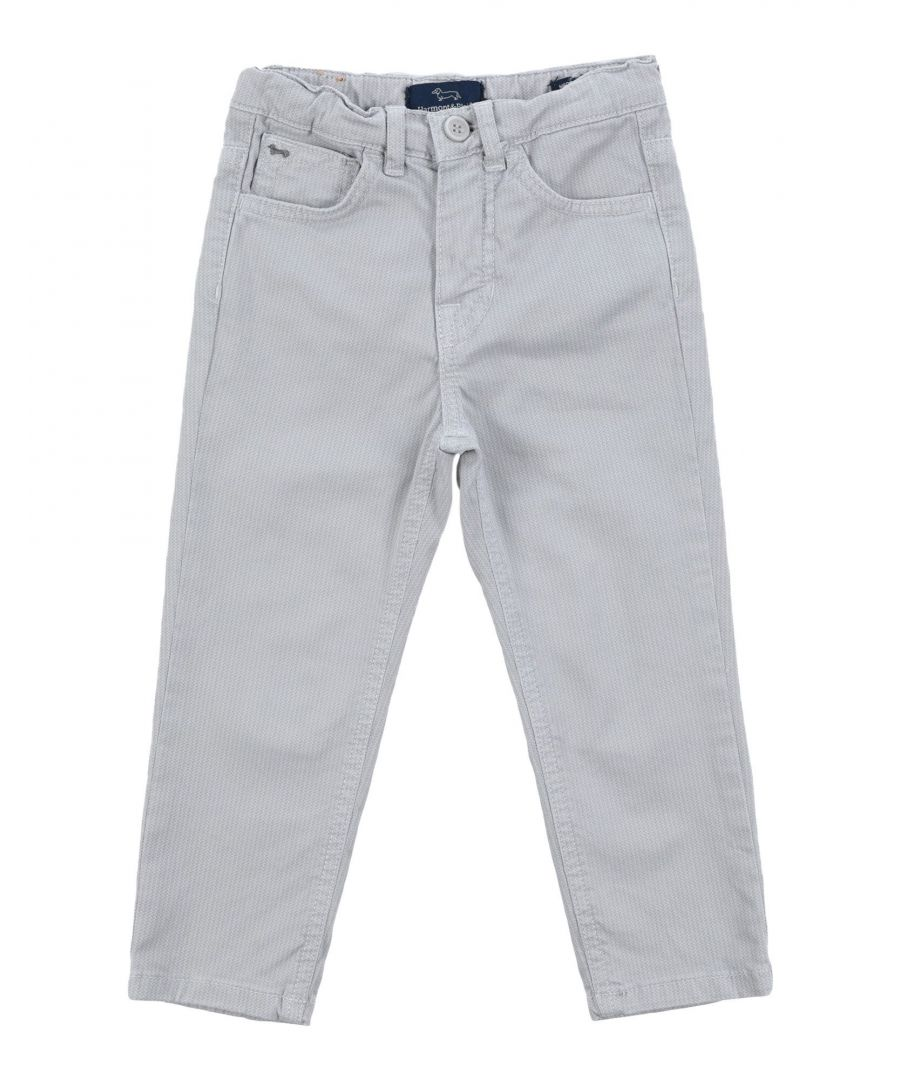 Image for Harmont&Blaine Light grey Boy Cotton Trousers
