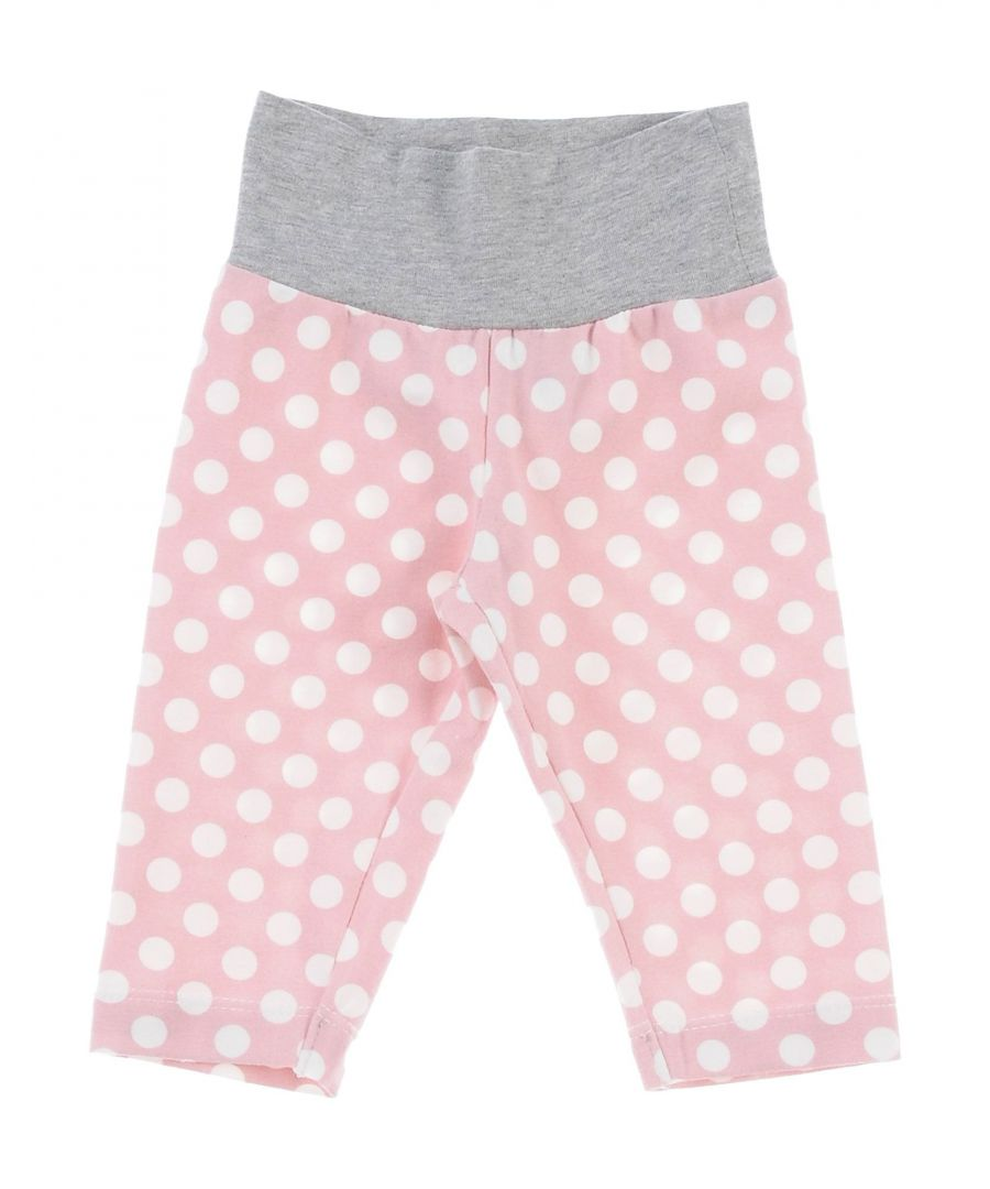 Image for TROUSERS Girl Monnalisa Pink Cotton