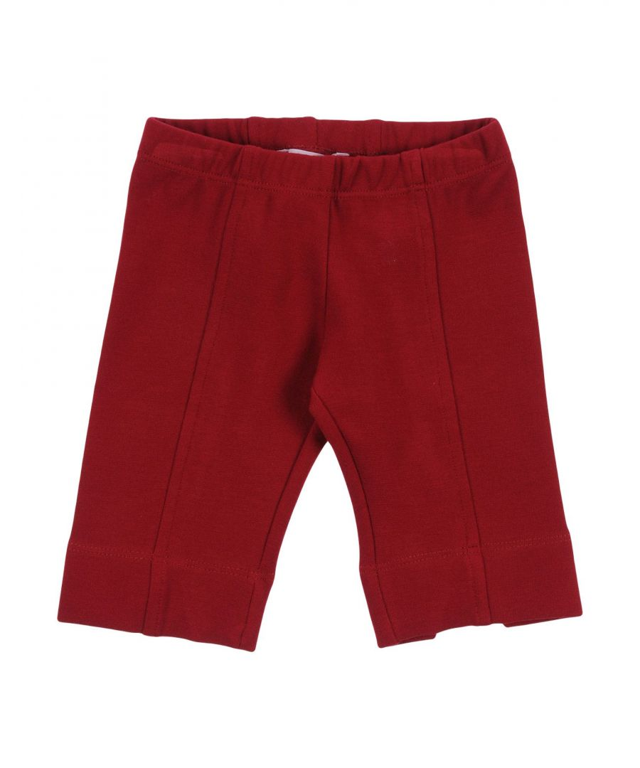 Image for TROUSERS Girl Monnalisa Red Viscose