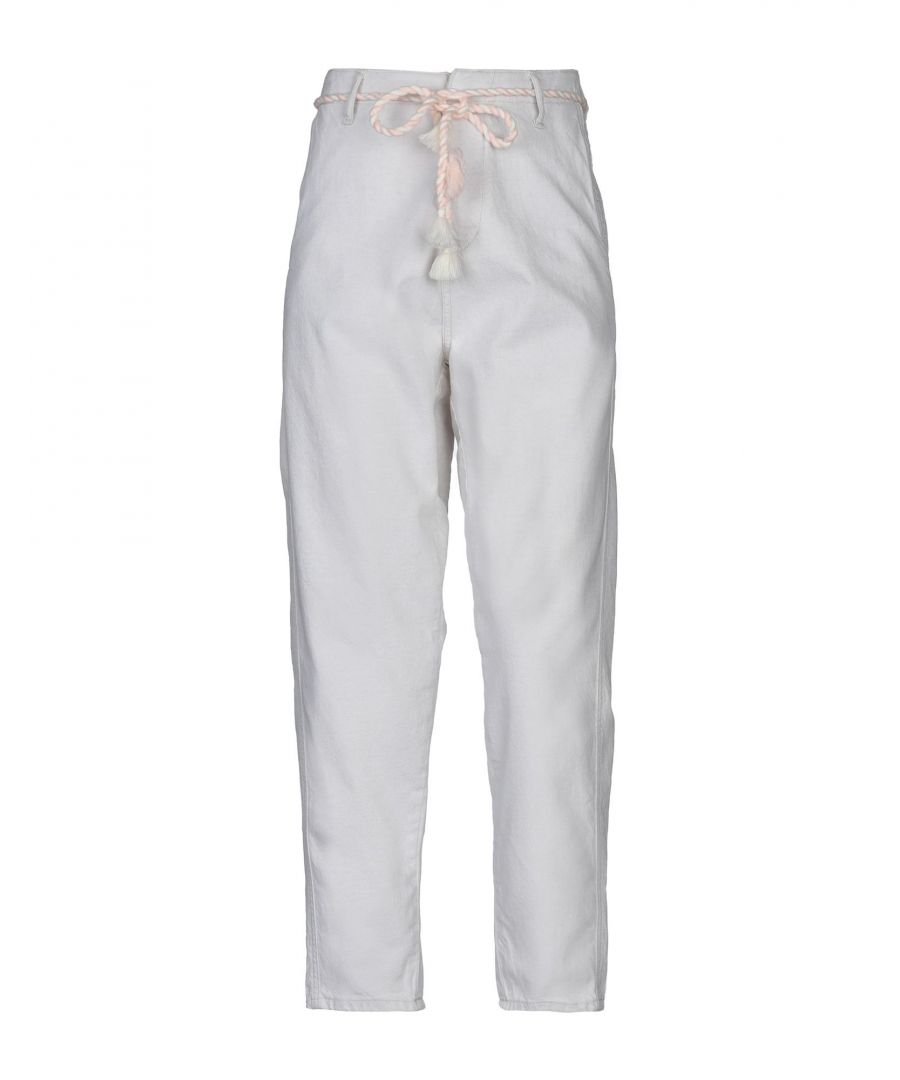 Image for DENIM Woman Maison Scotch Ivory Cotton