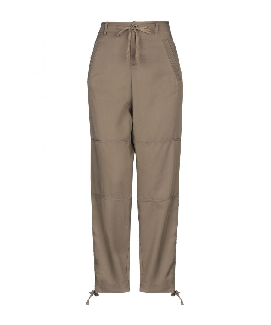 Image for Lauren Ralph Lauren Military Green Tapered Leg Trousers