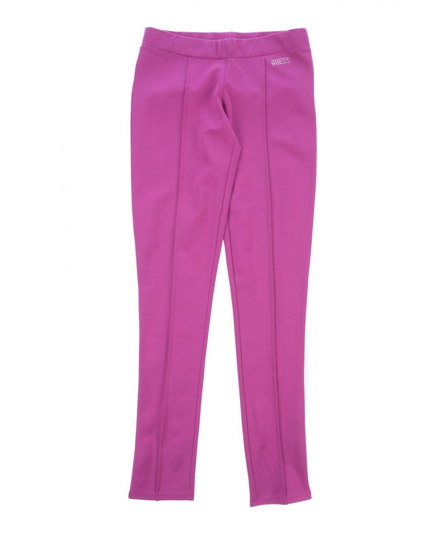 Image for TROUSERS Girl Guess Mauve Viscose