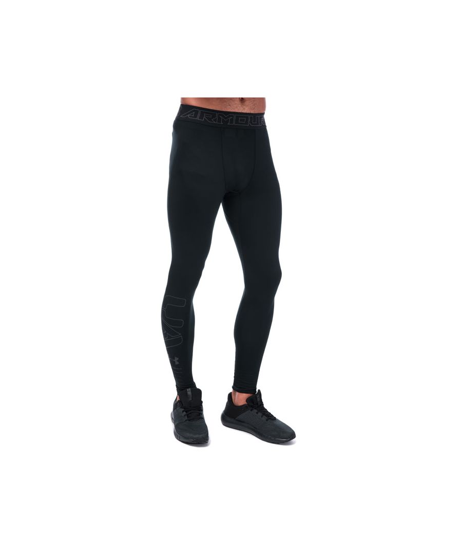 Image for Men's Under Armour ColdGear Compression Leggings in Black