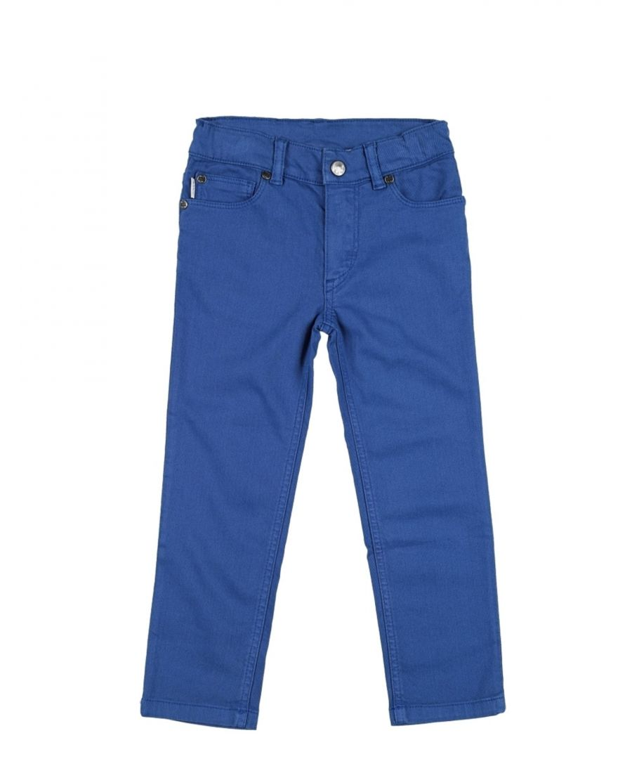 Image for DENIM Boy Paul Smith Azure Cotton