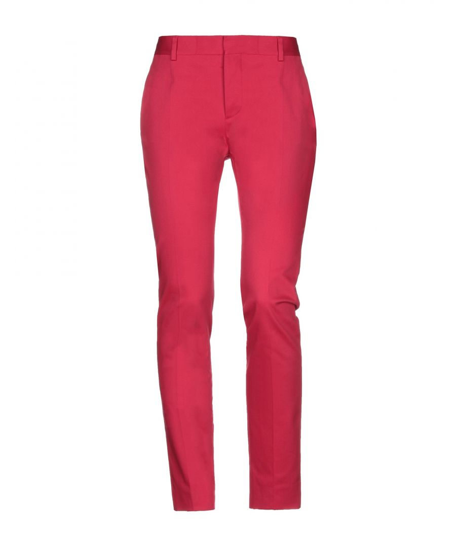 Image for Dsquared2 Red Cotton Trousers