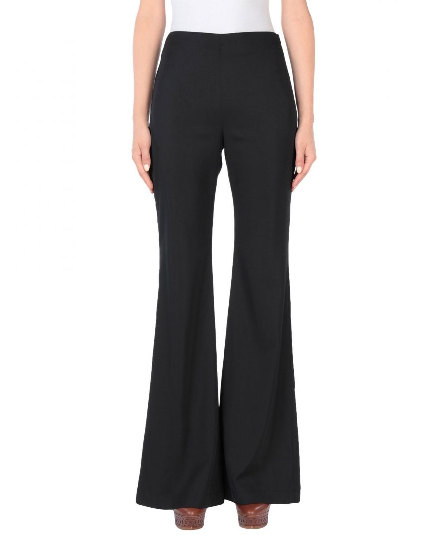 Image for Pinko Black Wide Leg Trousers