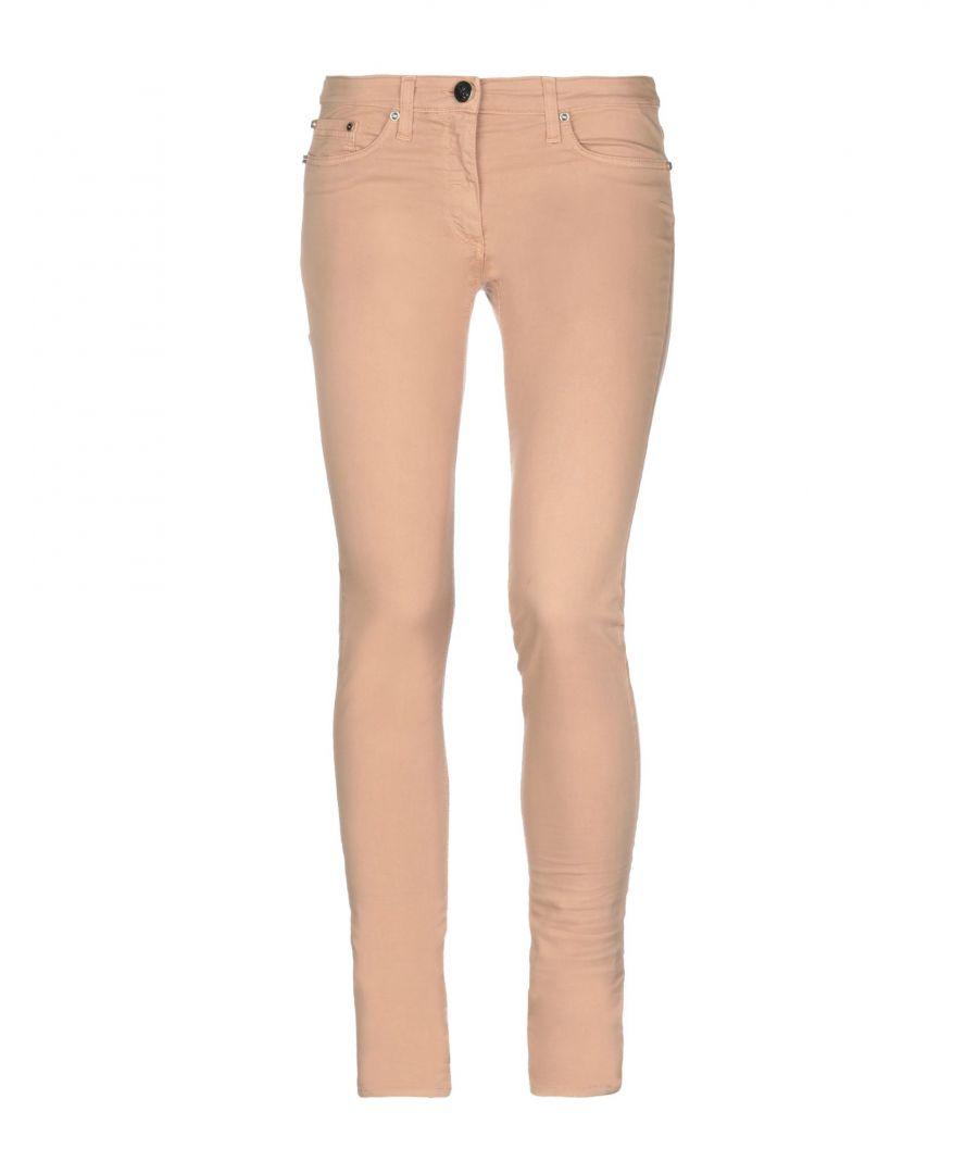 Image for Elisabetta Franchi Jeans Sand Cotton Trousers