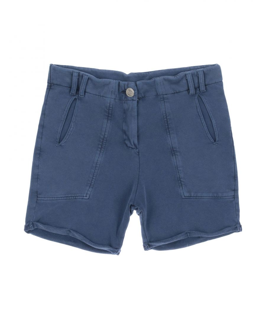 Image for Gas Blue Girl Cotton Shorts