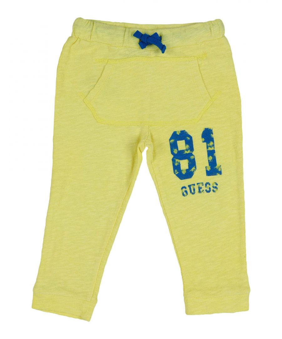 Image for Guess Yellow Boy Cotton Trousers