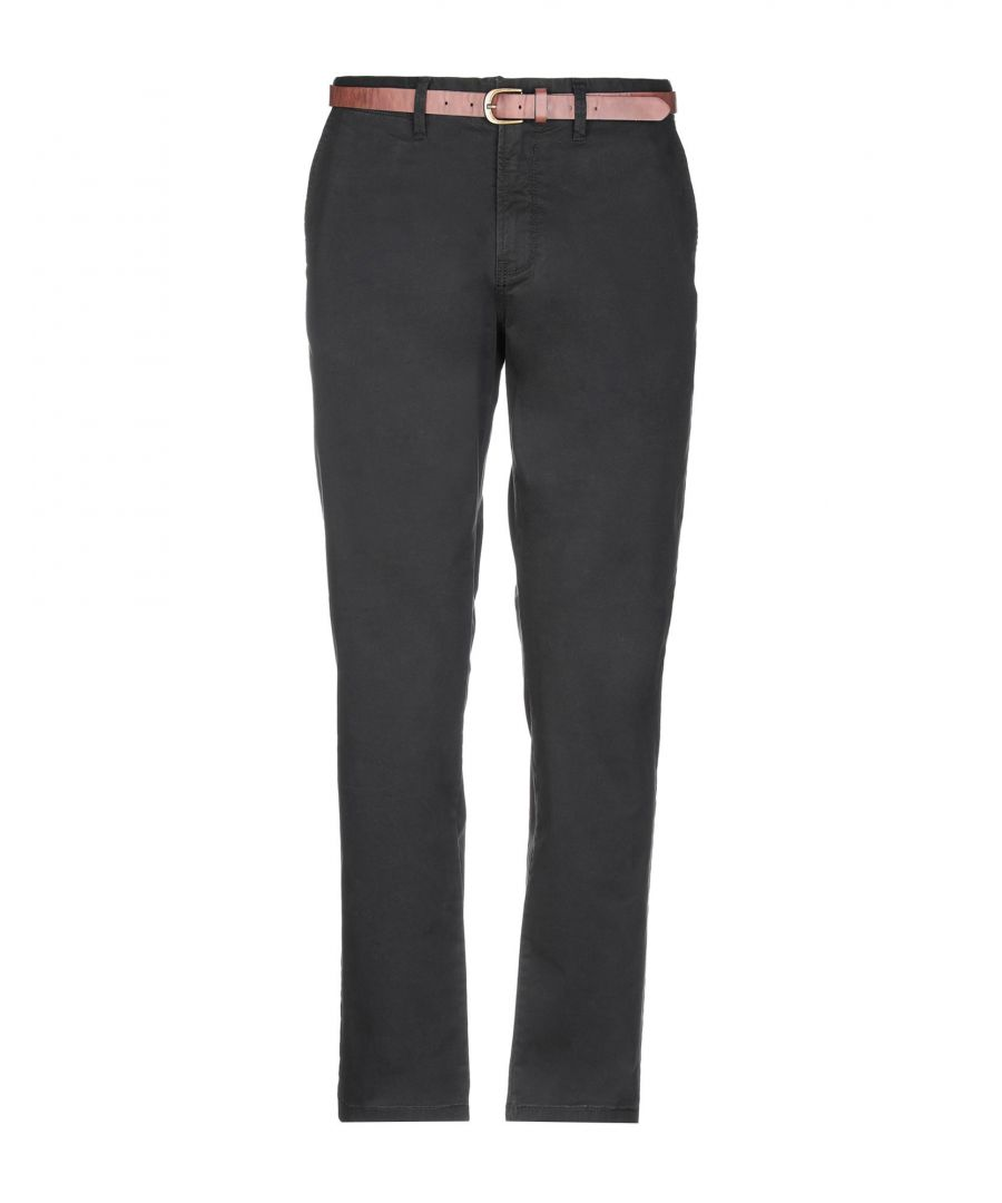 Image for Jack & Jones Black Cotton Tapered Leg Chino Trousers