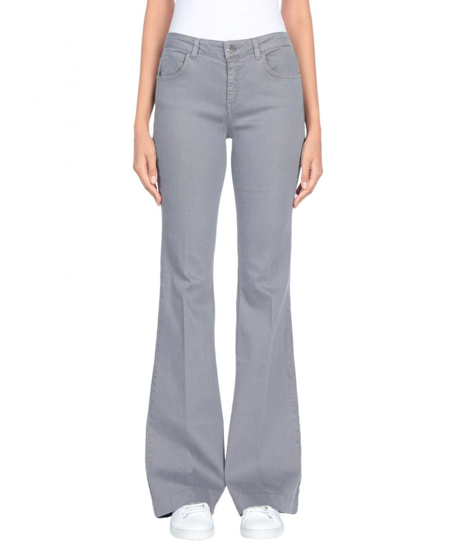 Image for Kaos Jeans Grey Tencel Bootcut Jeans