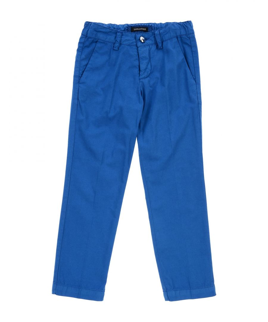 Image for TROUSERS Boy Tagliatore Blue Cotton