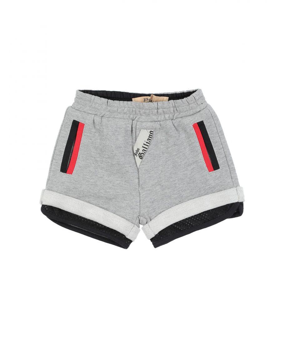 Image for John Galliano Light Grey Boy Cotton Shorts