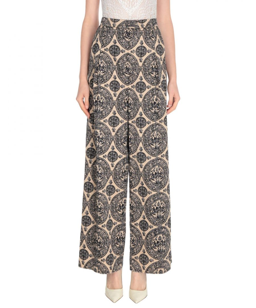 Image for Valentino Sand Cotton Casual Trousers
