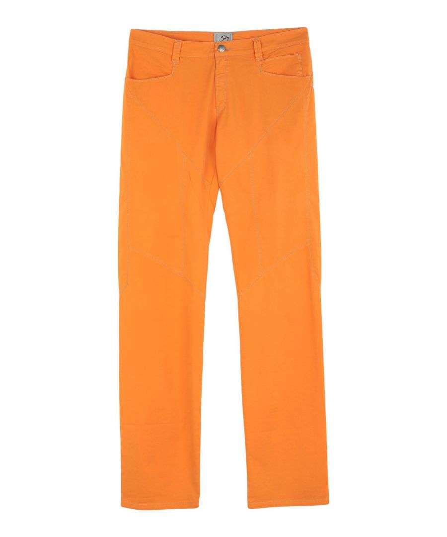 Image for TROUSERS 9.2 By Carlo Chionna Orange Boy Cotton