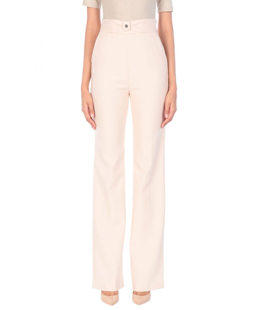 Image for TROUSERS Elisabetta Franchi Sand Woman Polyester