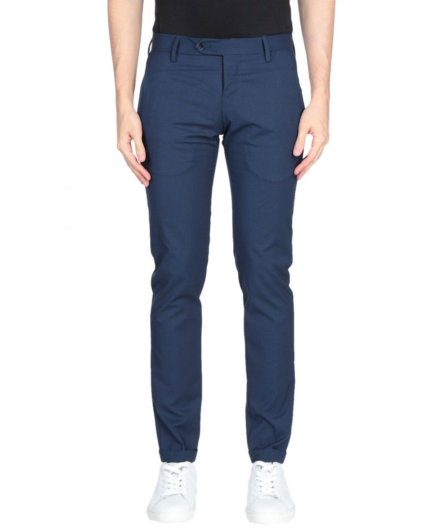 Image for Michael Coal Dark Blue Trousers
