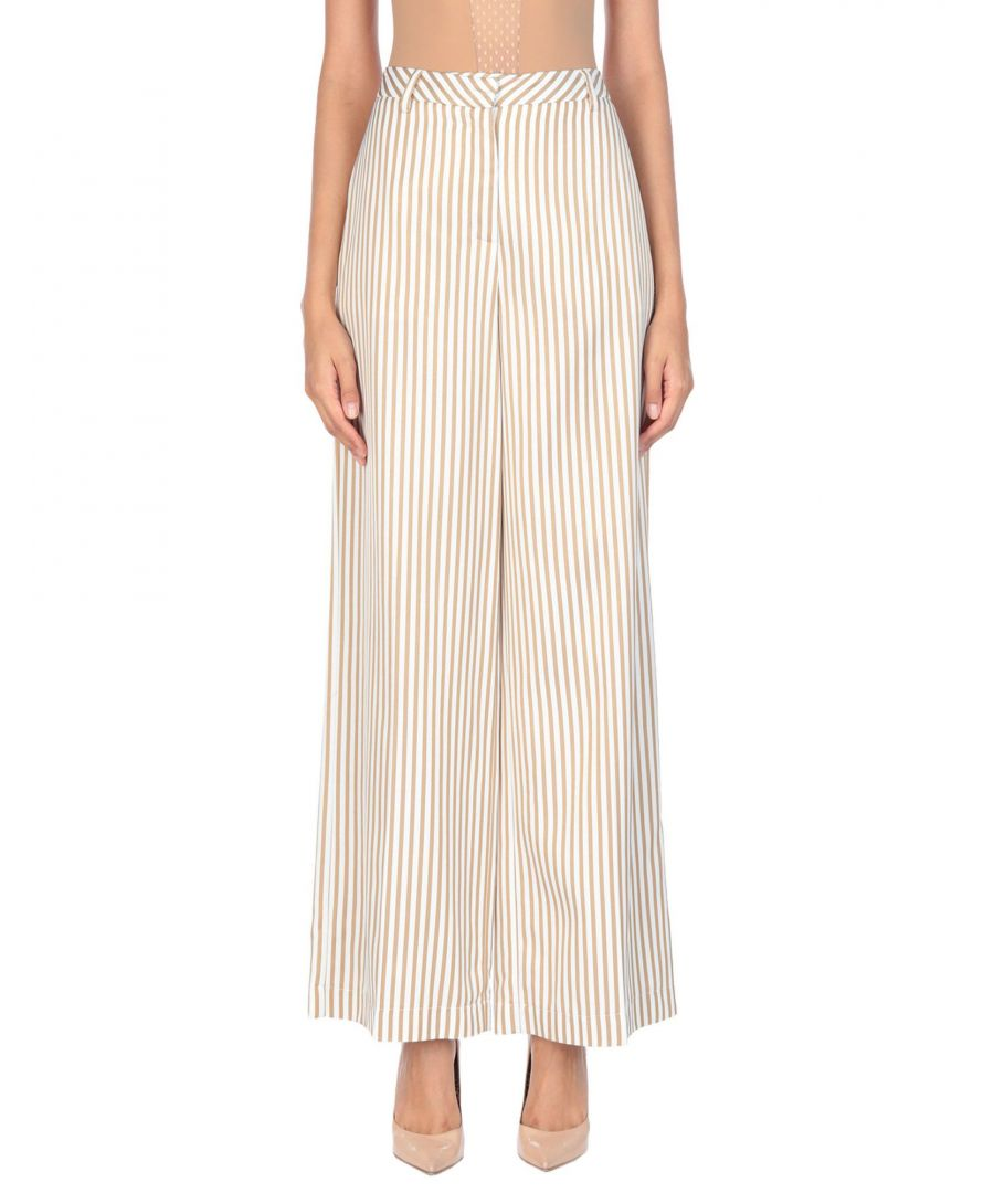 Image for TROUSERS Woman Ki6? Who Are You? Beige Viscose