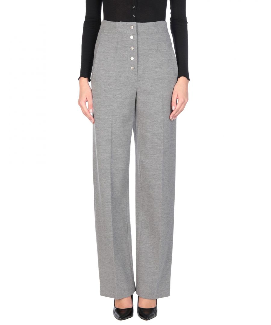 Image for Stella McCartney Grey Wool Tailored Trousers
