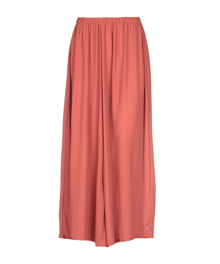 Image for Just Female Brown Crepe Wide Leg Trousers
