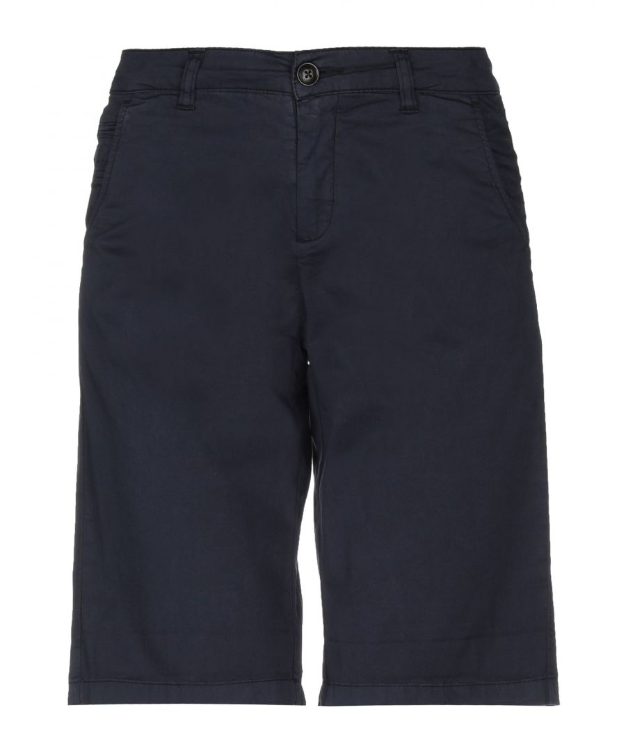 Image for Woolrich Dark Blue Cotton Shorts