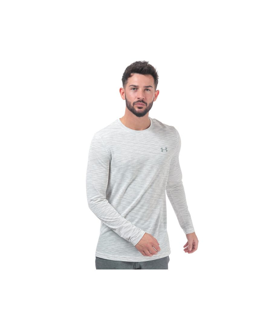 Image for Men's Under Armour Vanish Seamless Long Sleeve T-Shirt in White