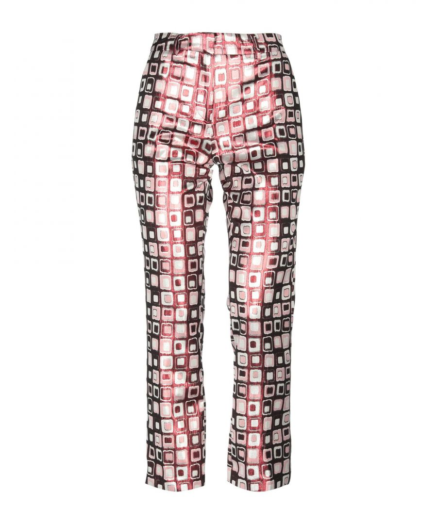 Image for Nora Barth Garnet Jacquard Tapered Leg Trousers