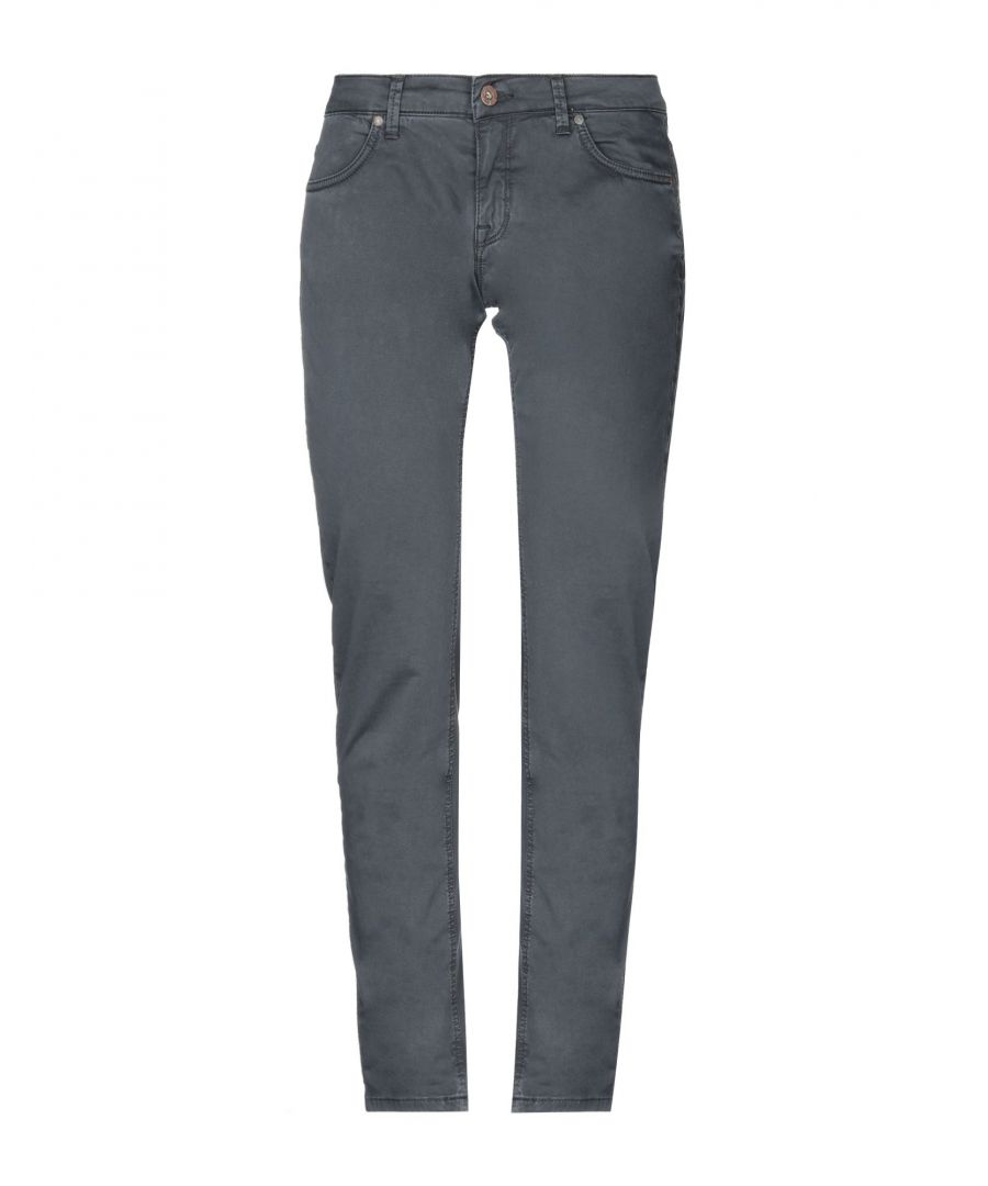 Image for Twenty Easy By Kaos Lead Cotton Straight Leg Trousers