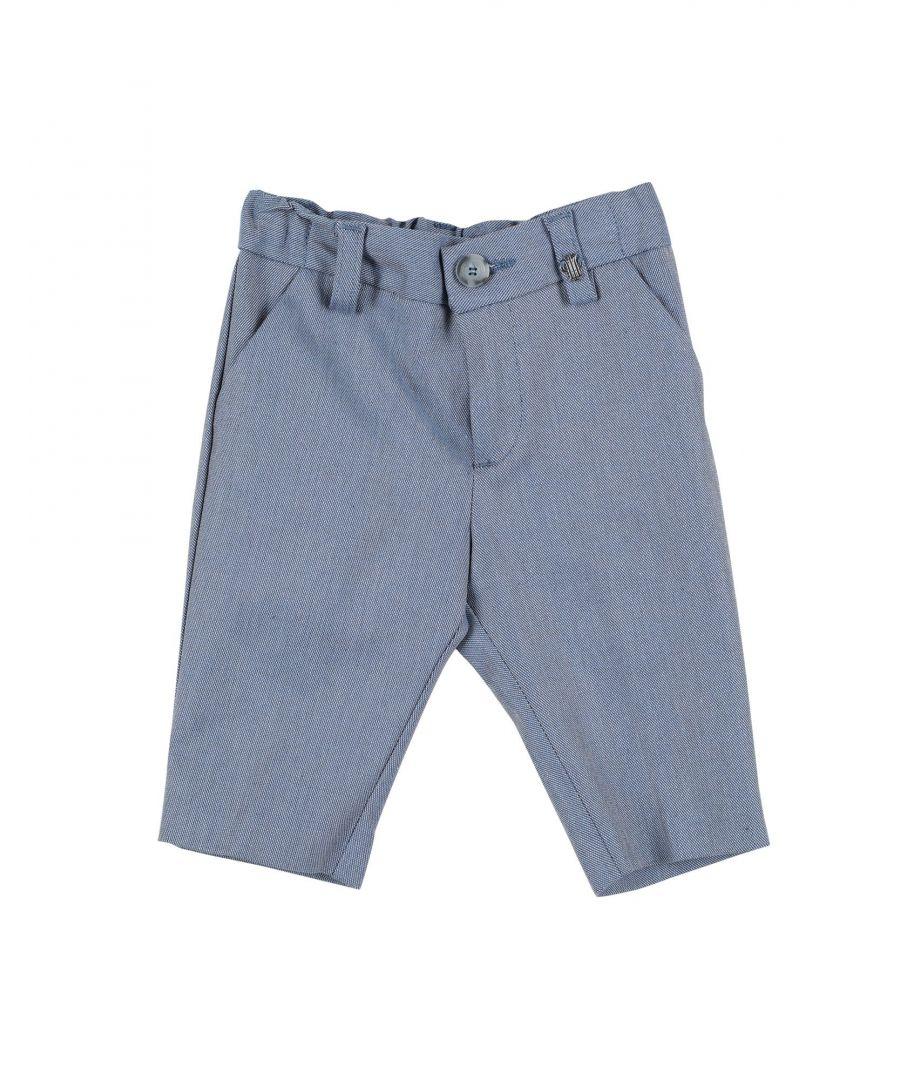 Image for TROUSERS Boy I Pinco Pallino Blue Cotton