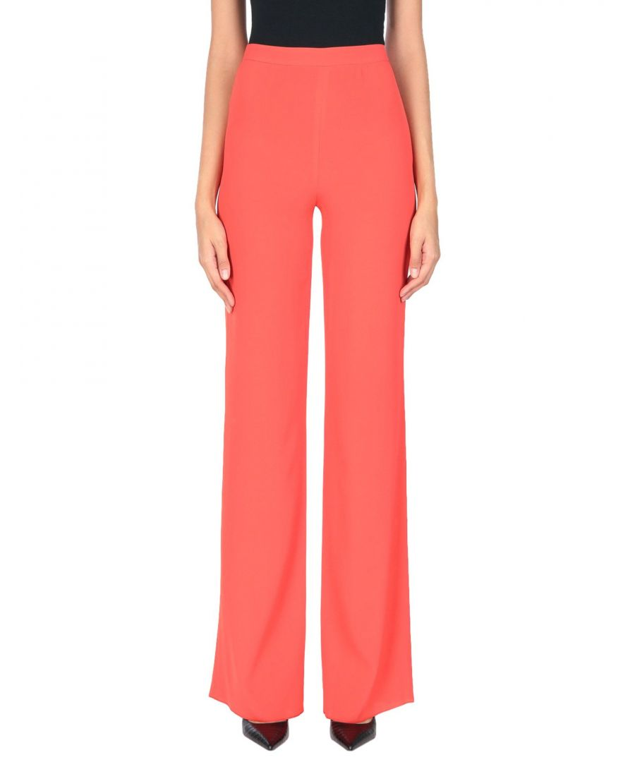 Image for Emilio Pucci Red Crepe Tailored Trousers