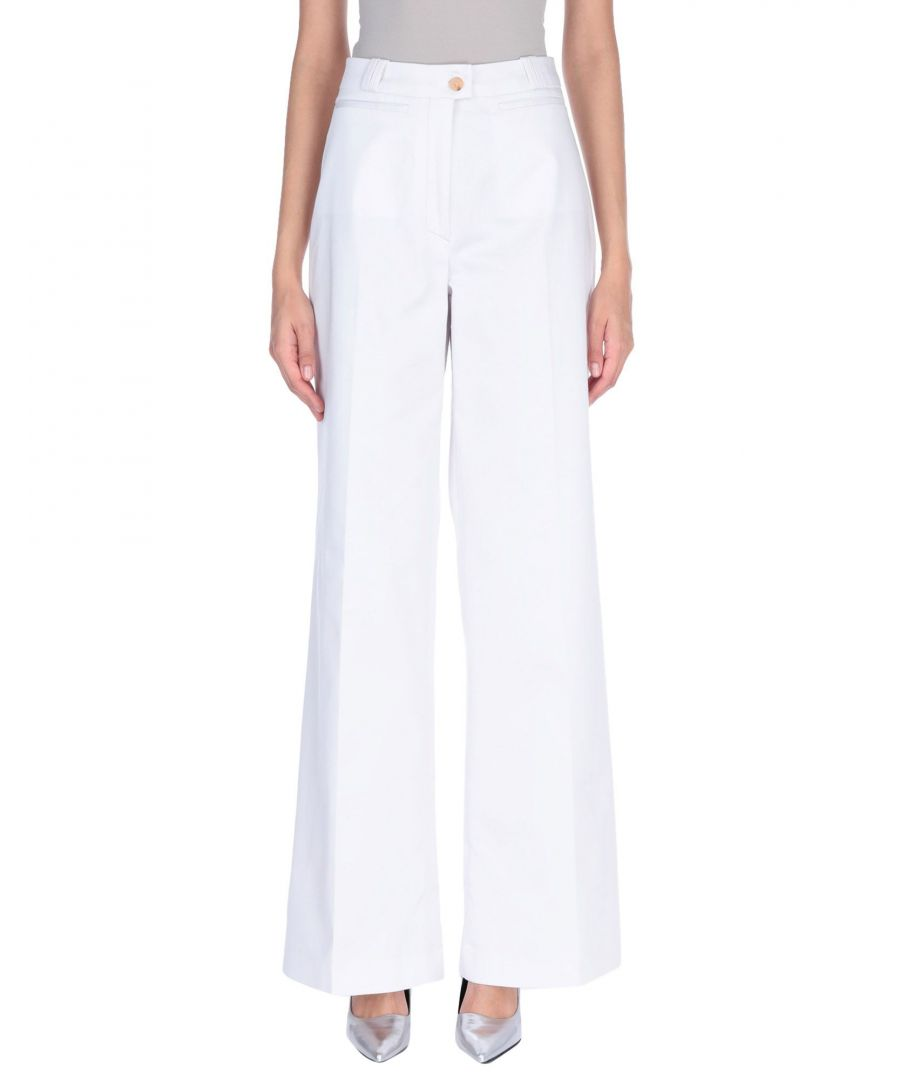 Image for TROUSERS Acne Studios White Woman Cotton