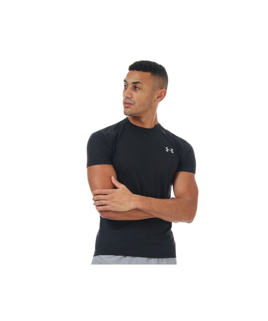 Image for Men's Under Armour Streaker 2.0 Short Sleeve T-Shirt in Black